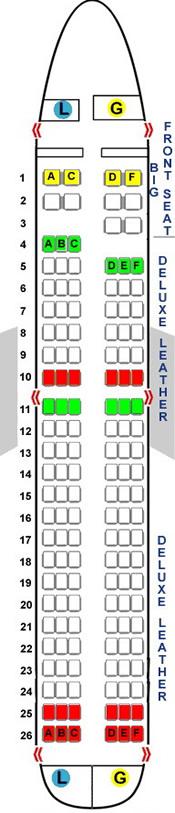 easyjet a320 seating plan - photo #24